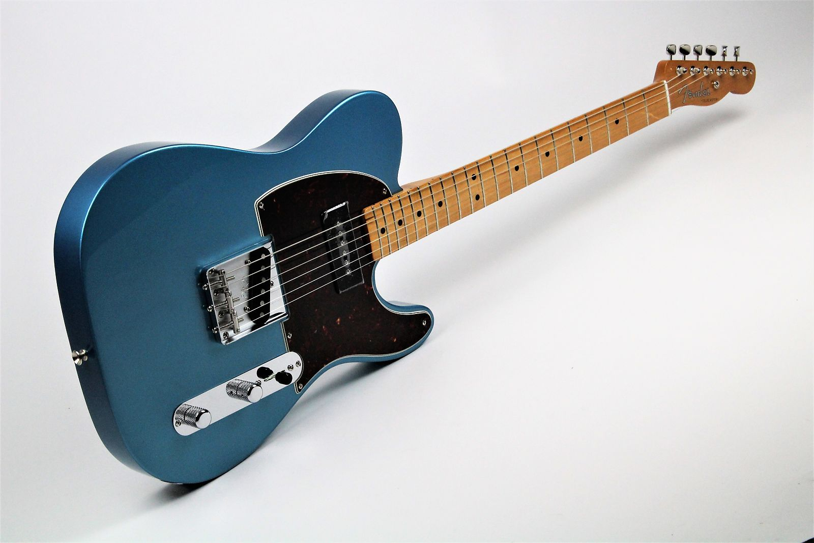 fender ltd limited 50 s telecaster p90 lake placid blue gerald musique. Black Bedroom Furniture Sets. Home Design Ideas